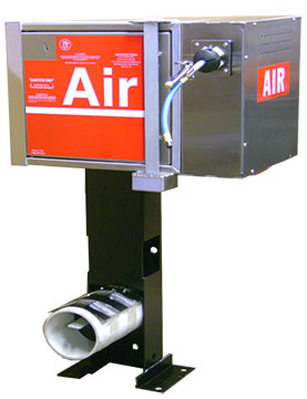Air Machine with Side Reel & Vault