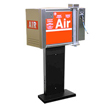Air Machine with retractable side real